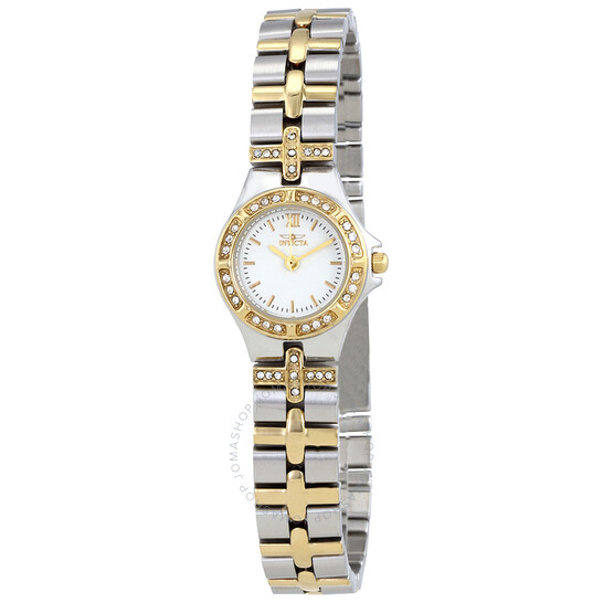 Invicta Wildflower White Dial Two-tone Ladies Watch 0133 | Joma Shop