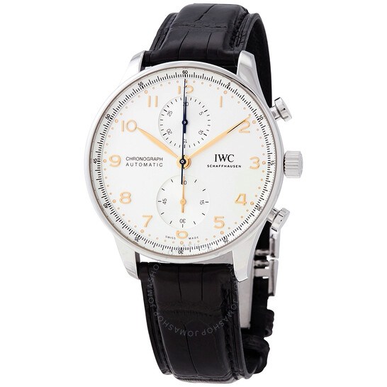 Iwc Chronograph Automatic Silver Dial Watch IW3716-04   Joma Shop