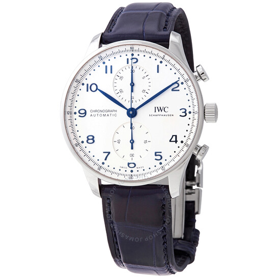 Iwc Portugieser Chronograph Automatic Silver Dial Watch IW3716-05 | Joma Shop
