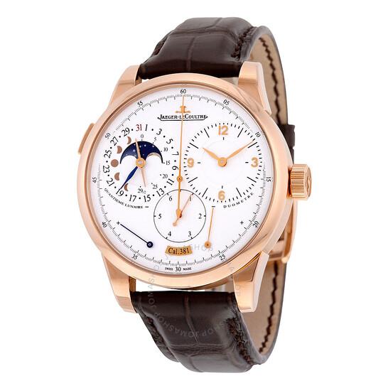 Jaeger Lecoultre Duometre a Quantieme Lunaire Silver Dial Mechanical Men's Watch Q6042521 | Joma Shop