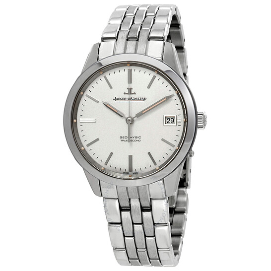 Jaeger Lecoultre Geophysic True Second Automatic Silver Dial Men's Watch Q8018120   Joma Shop