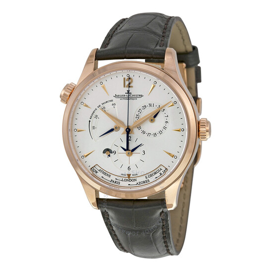 Jaeger Lecoultre Master Geographic GMT Rose Gold Men's Watch Q1422421 | Joma Shop