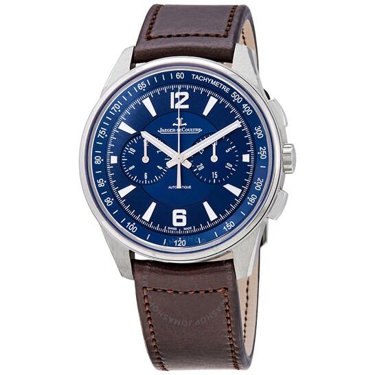 Jaeger Lecoultre Polaris Chronograph  Automatic Blue Dial Men's Watch Q9028480 | Joma Shop
