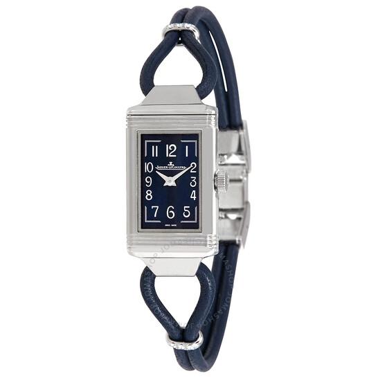 Jaeger Lecoultre Reverso One Cordonnet Blue Dial Ladies Watch Q326858J   Joma Shop