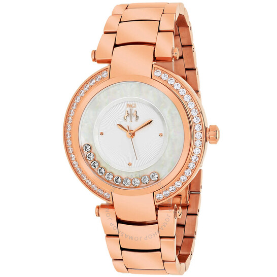 Jivago Celebrate Silver Dial Rose Gold Tone Staainless Steel JV1614   Joma Shop