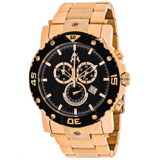 Jivago Titan Chronograph Quartz Black Dial Men's Watch JV9123XL | Joma Shop