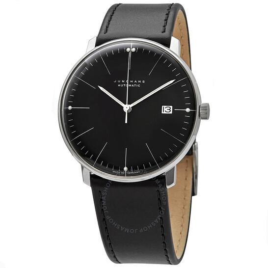 junghans-max-bill-automatic-black-dial-m