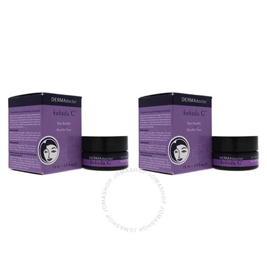 Dermadoctor Kakadu C Eye Souffle by DERMAdoctor for Women - 0.5 oz Cream - Pack of 2   Joma Shop