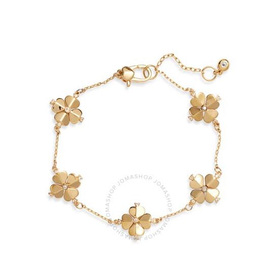 Kate Spade Ladies Legacy Logo Spade Flower Bracelet | Joma Shop
