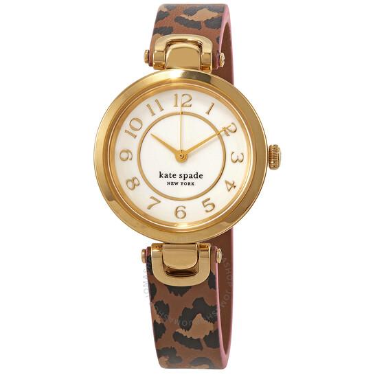 Kate Spade Rainey Park Quartz White Dial Watch KSW1637   Joma Shop