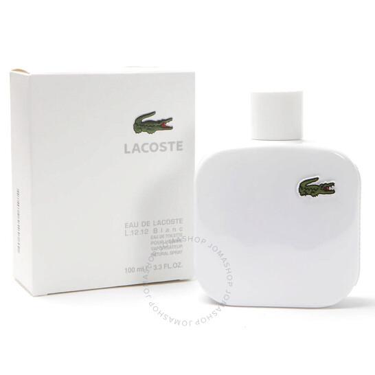Lacoste L.12.12 Blanc / Lacoste EDT Spray (white) 3.3 oz (m) | Joma Shop