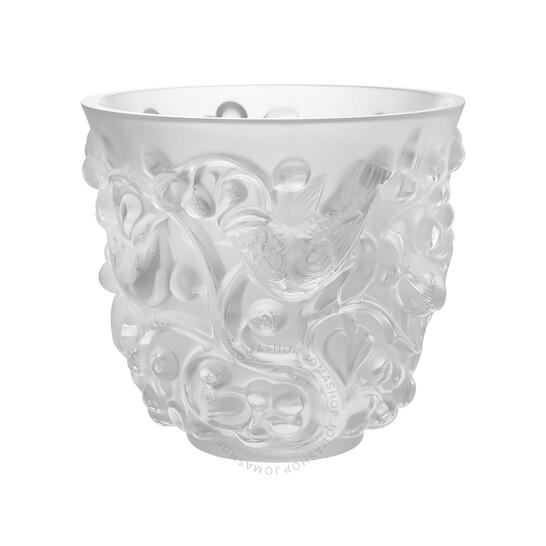 Lalique Clear Crystal Avallon Vase 10065300 | Joma Shop