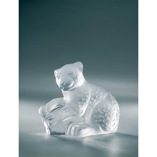 Lalique Crystal Bombay Jaguar Cub 12113 | Joma Shop