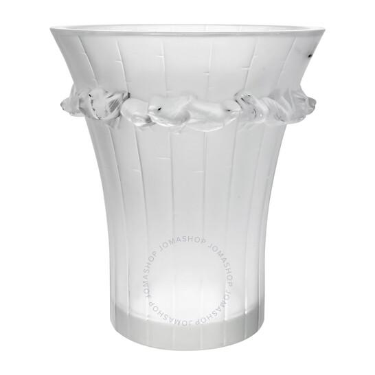 Lalique Crystal Boulouris Vase 100652   Joma Shop