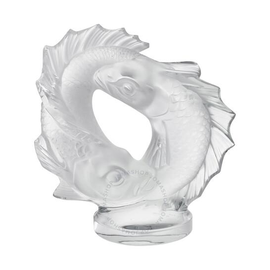 Lalique Crystal Double Fish 11622 | Joma Shop