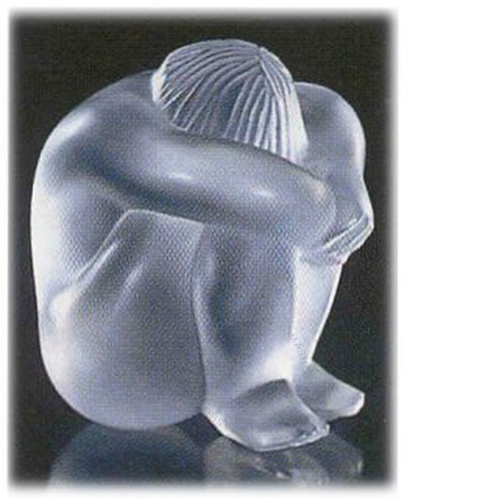 Lalique Crystal Nahbi Nude Meditating 11922 | Joma Shop