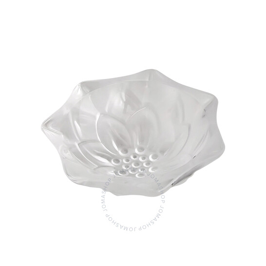 Lalique Crystal Nymphea Bowl in Clear Crystal 11126 | Joma Shop