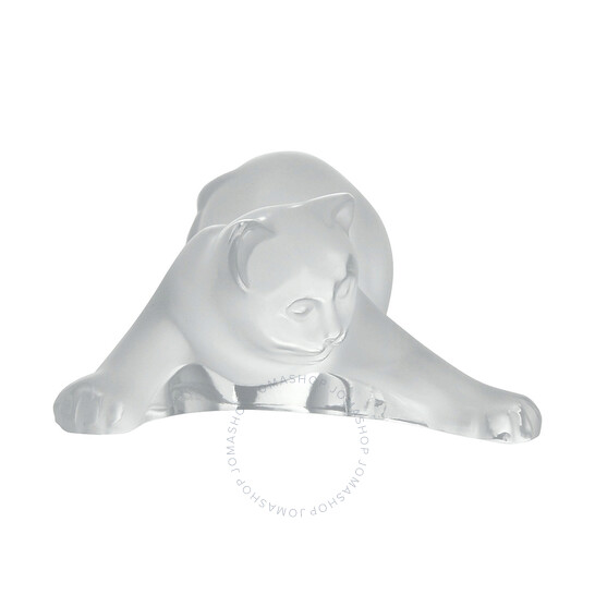 Lalique Crystal Playing Kitten 12174 | Joma Shop