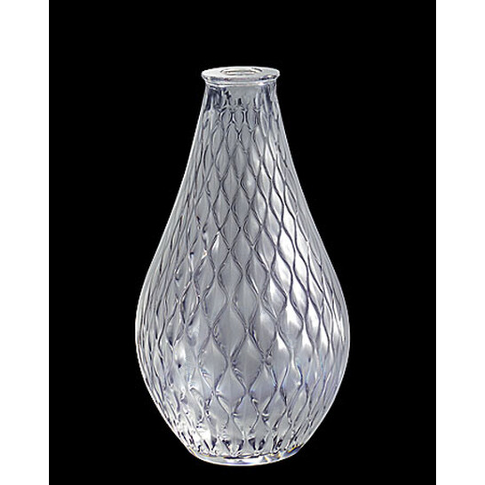 Lalique Crystal Vibration Bud Vase 12675   Joma Shop