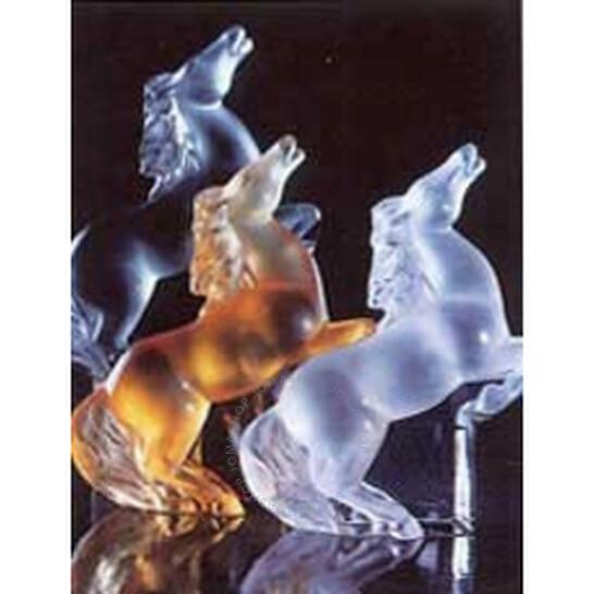 Lalique Figure Rearing Kazak Horse Grey Crystal 12066 | Joma Shop
