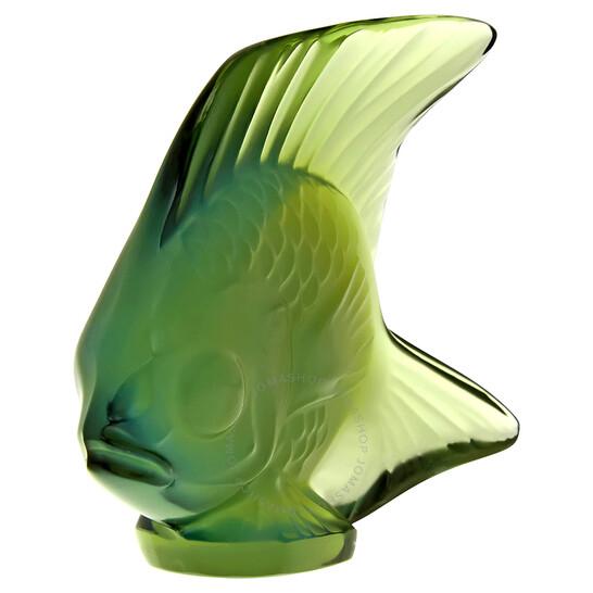 Lalique Figurine Antinea Seal Fish 3001200 | Joma Shop