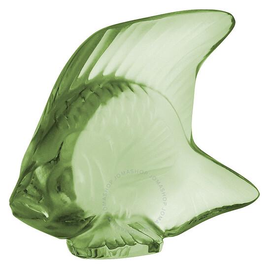 Lalique Figurine Light Green Seal Fish 3000900 | Joma Shop