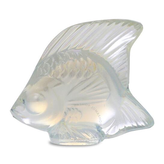 Lalique Fish Seal, Opalescent Lustre 10307700   Joma Shop