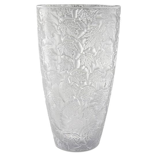 Lalique Foliage Vase, Large 10329300 | Joma Shop