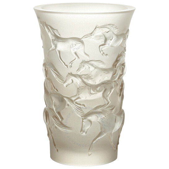 Lalique Mustang Vase - Clear | Joma Shop