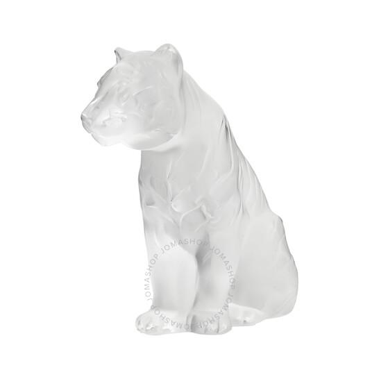 Lalique Sitting Tiger 10058000   Joma Shop