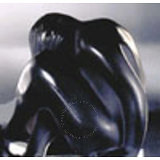 Lalique Statuette Nu Assis Noir Crystal 11918   Joma Shop