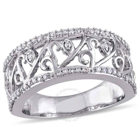 Laura Ashley 1/4 CT TW Diamond Fashion Ring - Size 8   Joma Shop