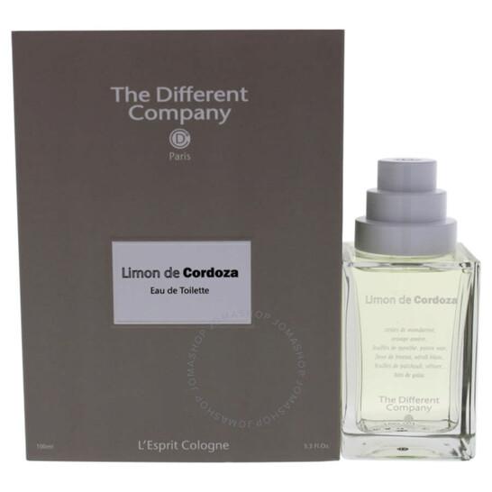 The Different Company Limon De Cordoza by The Different Company for Unisex - 3.3 oz EDT Spray   Joma Shop