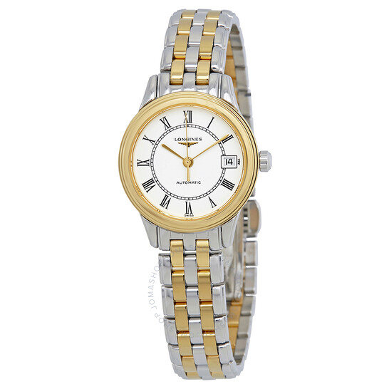 Longines Flagship White Dial Automatic Ladies Watch L42743217 | Joma Shop