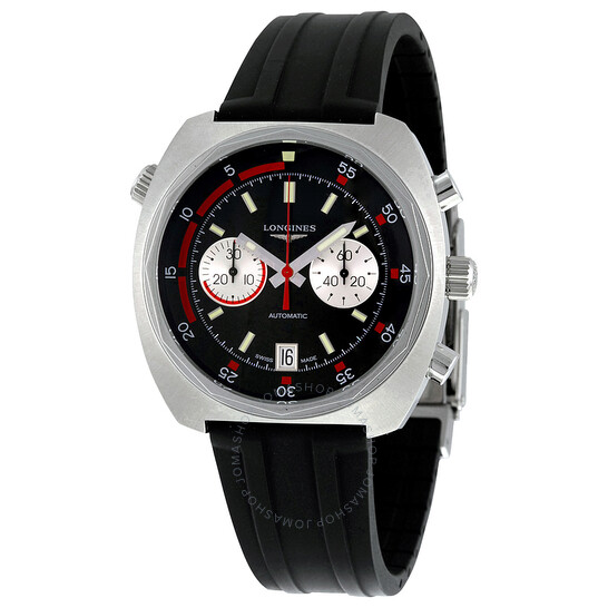 Longines Heritage Diver Automatic Chronograph Men's Watch L2.796.4.52.9   Joma Shop