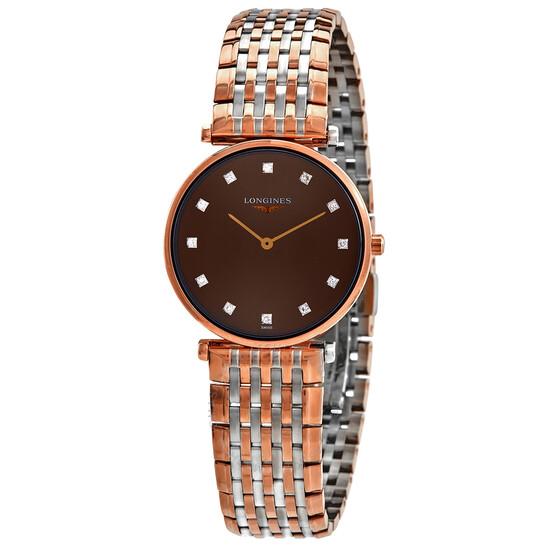 Longines La Grande Classique Quartz Diamond Ladies Watch L4.512.1.67.7 | Joma Shop