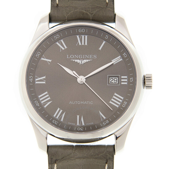 Longines Master Collection Grey Dial Men's Watch L2.793.4.71.3   Joma Shop