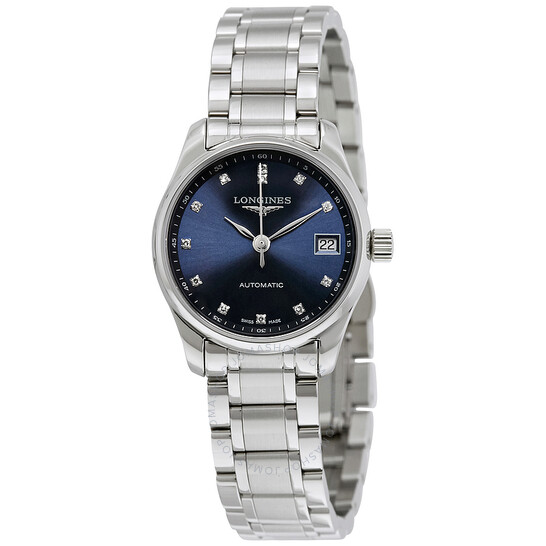 Longines Masters Collection Automatic Ladies Watch L2.128.4.97.6   Joma Shop
