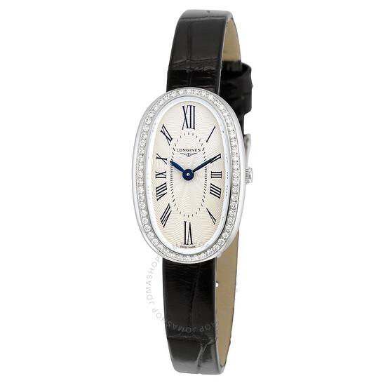 Longines Symphonette Quartz Diamond Silver Dial Ladies Watch L2.305.0.71.0   Joma Shop