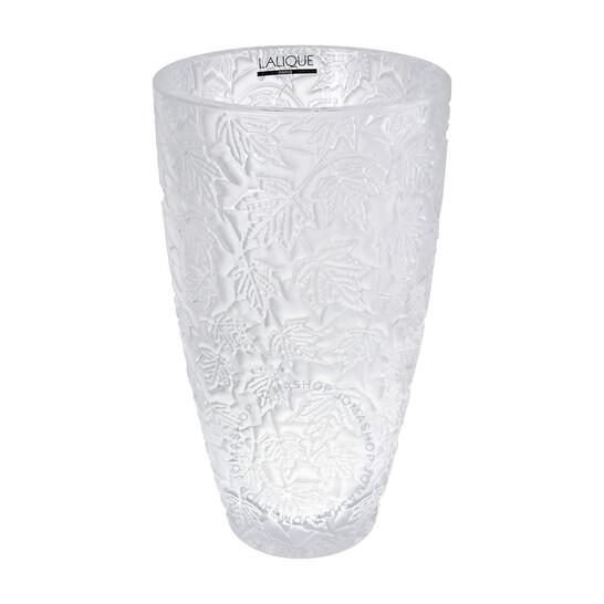 Lalique Foliage Vase   Joma Shop