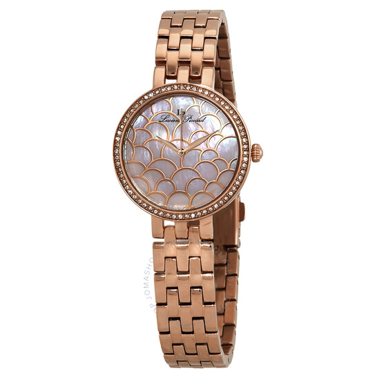 Lucien Piccard Ava Pink Dial Ladies Watch LP-28022-RG-99MOP | Joma Shop