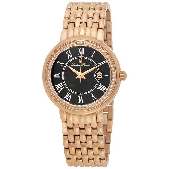Lucien Piccard Fantasia Black Dial Ladies Watch 16540-RG-11 | Joma Shop