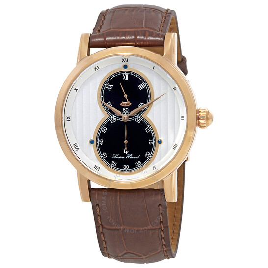 Lucien Piccard Dual Time Men's Watch 40044-RG-02S | Joma Shop