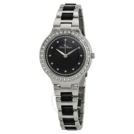 Lucien Piccard Natalie Black Dial Ladies Watch LP-28023-11 | Joma Shop