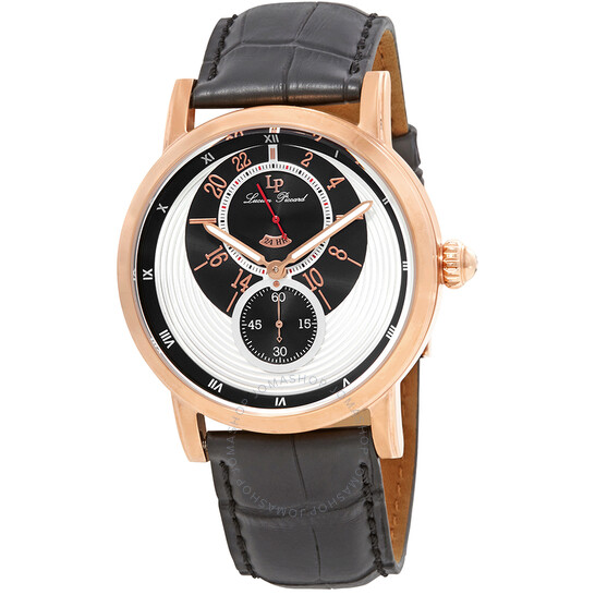 Lucien Piccard Santorini Dual Time Men's Watch 40043-RG-02S | Joma Shop