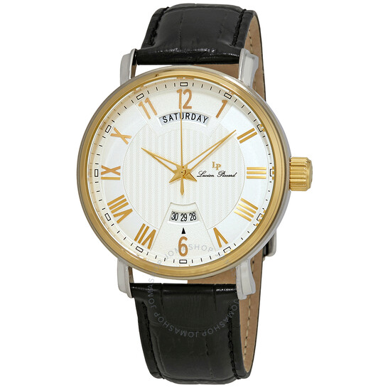 Lucien Piccard Maestro Silver Dial Men's Watch 40054-SG-02S | Joma Shop
