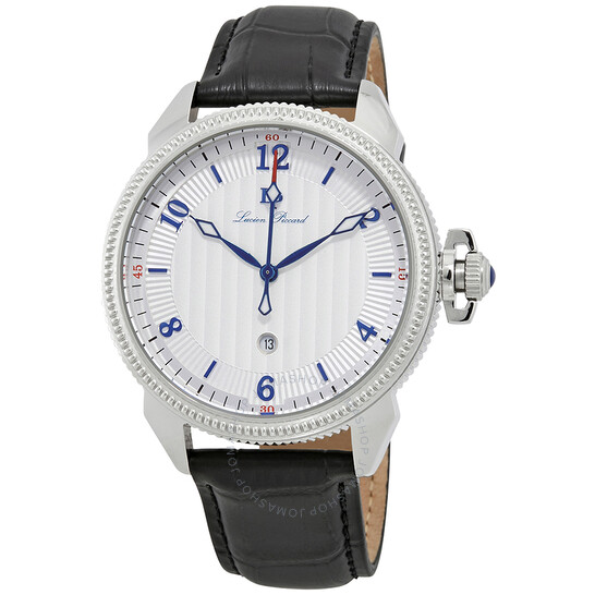 Lucien Piccard Trevi Silver Dial Men's Watch 40053-02S   Joma Shop