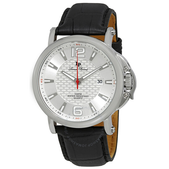 Lucien Piccard Triomf Silver Dial Men's Watch LP-40018-02S | Joma Shop