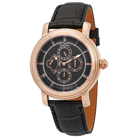 Lucien Piccard Valarta Retrograde Day Men's Watch LP-40009-RG-01 | Joma Shop