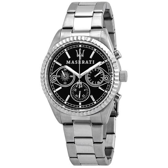 Maserati Competizione Chronograph Quartz Black Dial Men's Watch R8853100014 | Joma Shop